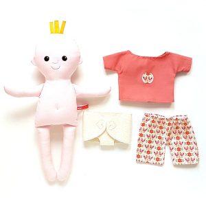 miaszösz pelenkás baba öltöztethető