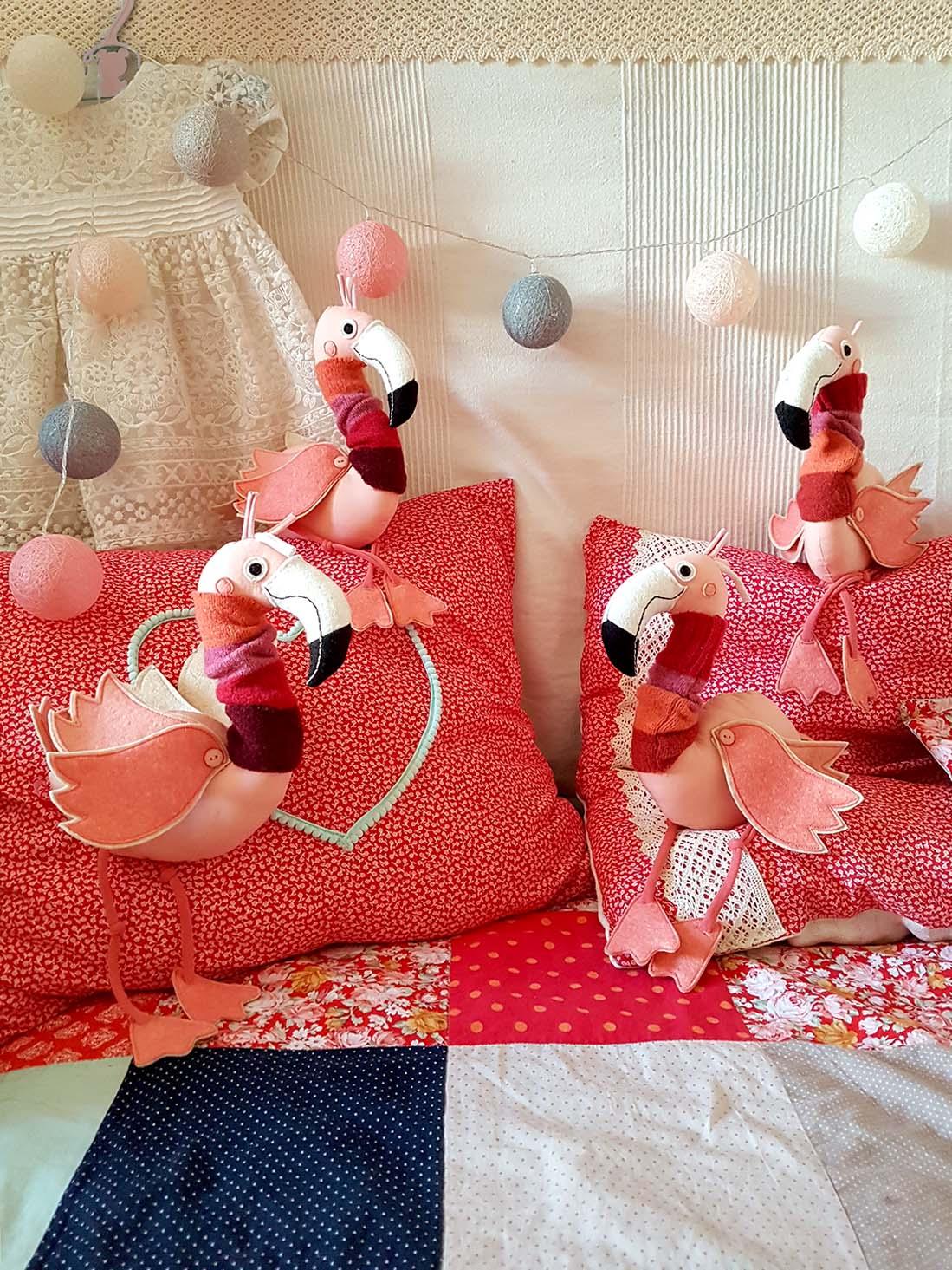 Miaszösz pályázat - Varrd magad! - flamingók