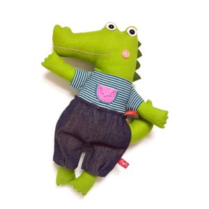 Miaszösz krokodil plüss