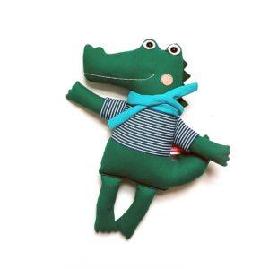 Miaszösz krokodil plüssfigura