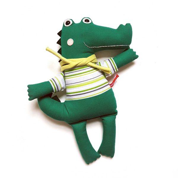 Miaszösz krokodil játékfigura